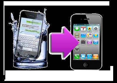 Réparation Iphone 5 tombé dans l'eau : désoxydation