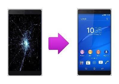Réparation bloc  écran Sony Xperia Z4 à Lyon