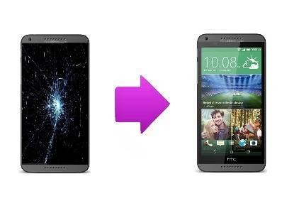 Réparation écran cassée pour HTC Desire 816