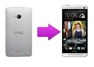 Remplacement cache arrière HTC One M7