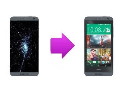 Réparation d'écran LCD + tactile pour HTC Desire 610