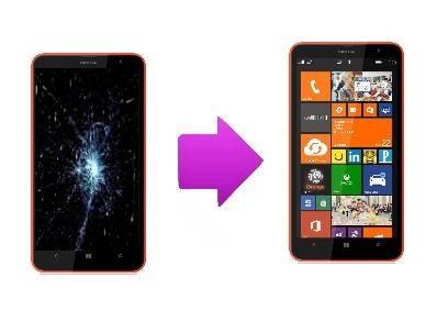 Changement du bloc écran Nokia Lumia 1320