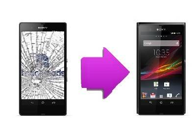 Remplacement bloc écran LCD + Tactile Sony Xperia Z1 Compact