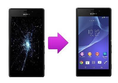 Changement LCD + vitre tactile Sony Xperia T3 (M50W)