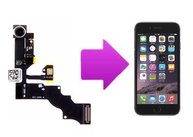 Remplacement caméra avant avec capteur de proximité iPhone 6 Plus