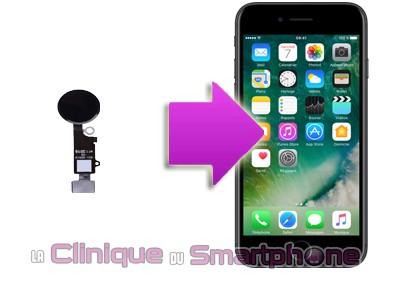 Changement Bouton Home Iphone 7 Plus sur Lyon