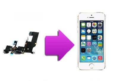 Changement nappe écouteur Iphone 5S