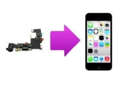Remplacement micro et connecteur de charge iPhone 5C