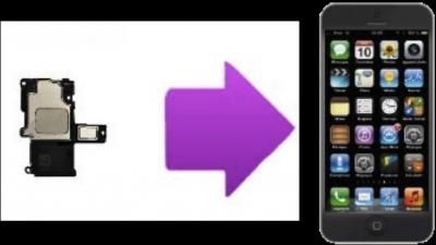 Remplacement écouteurs interne iPhone 5