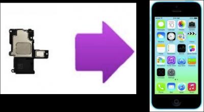 Remplacement écouteurs interne iPhone 5C