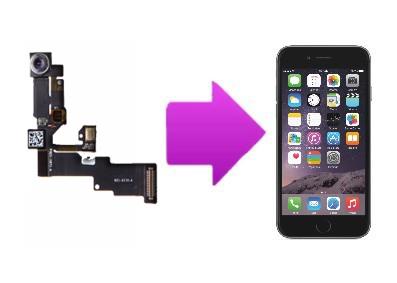 Remplacement caméra avant avec capteur de proximité iPhone 6