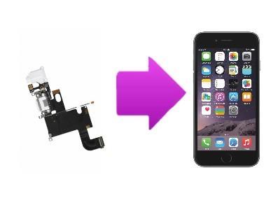 Remplacement du connecteur de charge iPhone 6