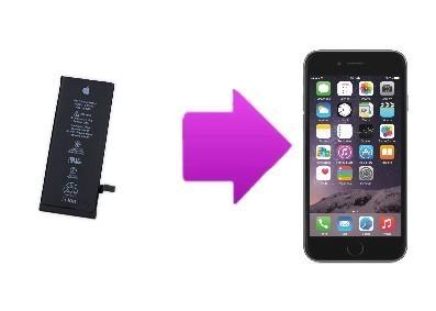 Remplacement de la batterie iPhone 6S