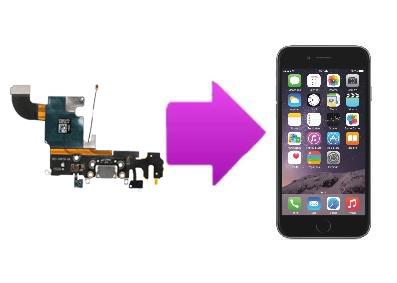 Remplacement du connecteur de charge iPhone 6S