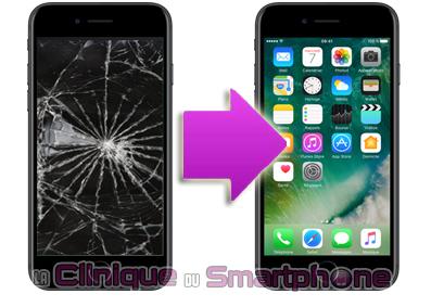 Remplacement bloc écran iPhone 7