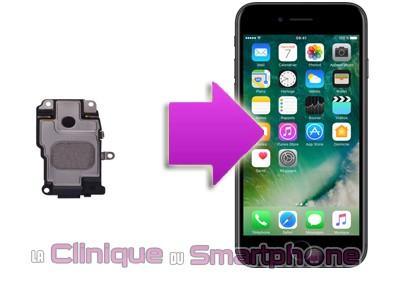 Réparation Haut-Parleurs Iphone 7 sur Lyon
