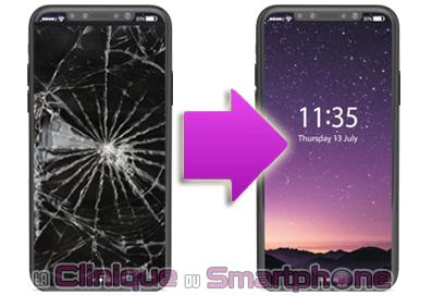 Changement bloc écran iPhone X