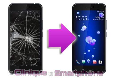 Changement bloc écran HTC U11