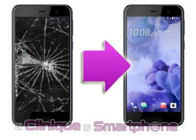 Remplacement bloc écran HTC U Play