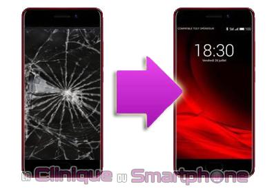 Remplacement bloc écran Meizu Pro 7
