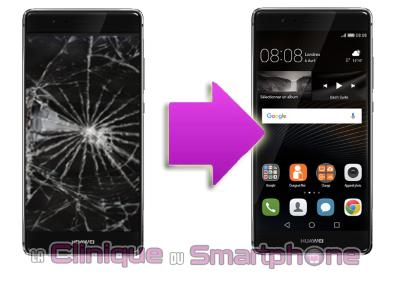 Remplacement bloc écran Huawei P9 Plus (Lyon)
