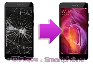 Changement bloc écran Xiaomi Redmi Note 4 à Lyon