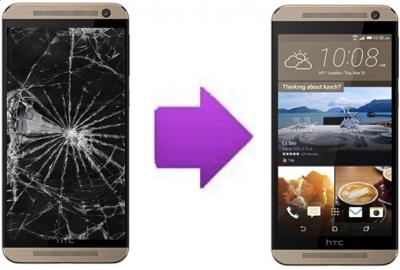 Remplacement bloc LCD + vitre tactile HTC One E9 ( Lyon )