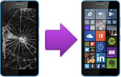 Remplacement Vitre Tactile + Ecran LCD Nokia Lumia 640 LTE / XL