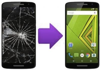 Remplacement Vitre Tactile + Ecran LCD Motorola Moto X Play à Lyon