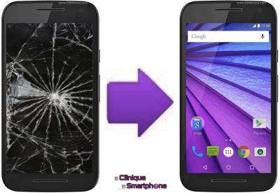 Remplacement Vitre Tactile + Ecran LCD Motorola Moto G 3ème génération