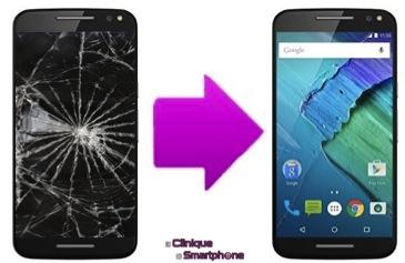 Réparation Ecran cassé Motorola Moto X STyle (XT 1572)