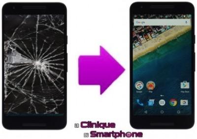 Remplacement de l'écran LG Nexus 5X à Lyon