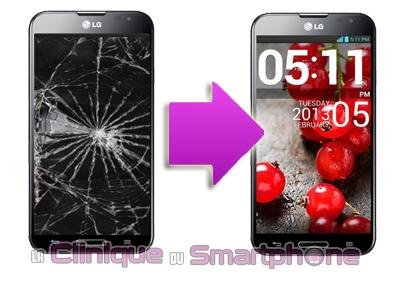 Changement bloc écran LG G PRO (E980) à Lyon