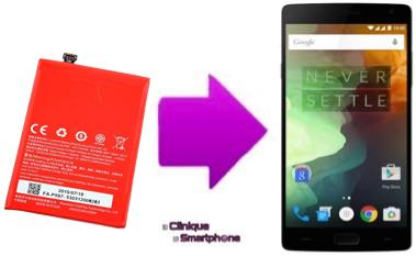 Remplacement batterie OnePlus Three sur Lyon
