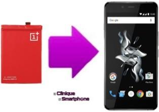 Replacement batterie OnePlus X sur Lyon