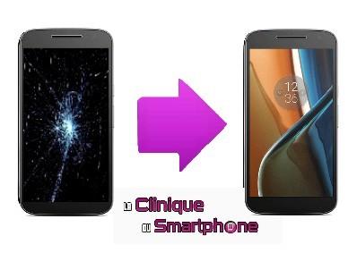 Remplacement bloc écran Motorola Moto G4 à Lyon