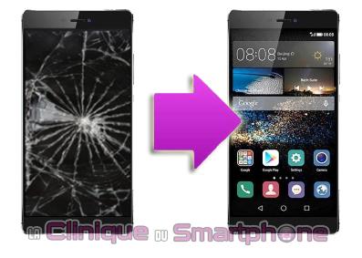 Changement écran Huawei P8 ( Lyon )