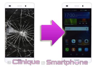 Changement écran Huawei P8 Lite ( Lyon )