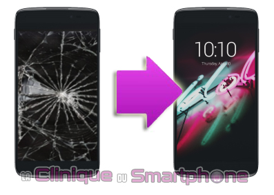 Remplacement Vitre Tactile + LCD Alcatel Idol 3 4,7