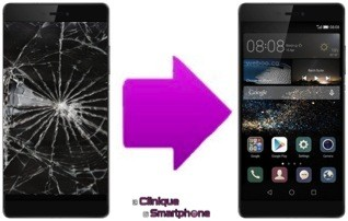 Remplacement LCD + Tactile Huawei P8 MAX ( Lyon )