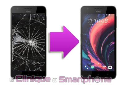 Remplacement Vitre Tactile + Ecran LCD HTC 10 life style