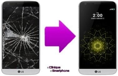 Réparation Vitre Tactile + Ecran LCD LG G6