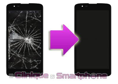 Réparation Vitre Tactile + Ecran LCD LG K7