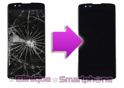 Réparation Vitre Tactile + Ecran LCD LG K8