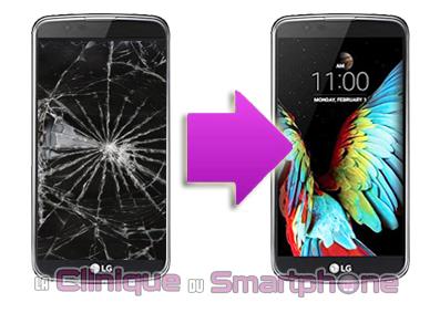 Changement Vitre Tactile + Ecran LCD LG K10