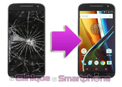 Remplacement bloc écran Motorola Moto G4 Plus à Lyon