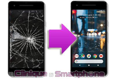 Changement bloc écran Google Pixel 2 XL