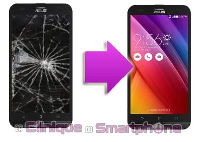 Changement bloc écran Asus Zenfone 2 Laser 6