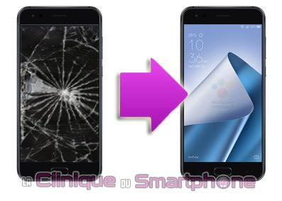 Changement bloc écran Asus Zenfone 4 Max Plus  à Lyon