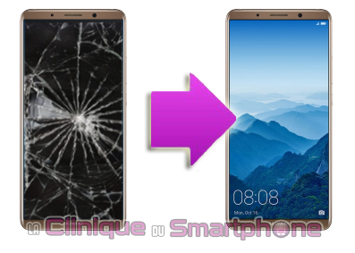 Remplacement Vitre Tactile + Ecran LCD Huawei Mate 10 Pro ( Lyon )